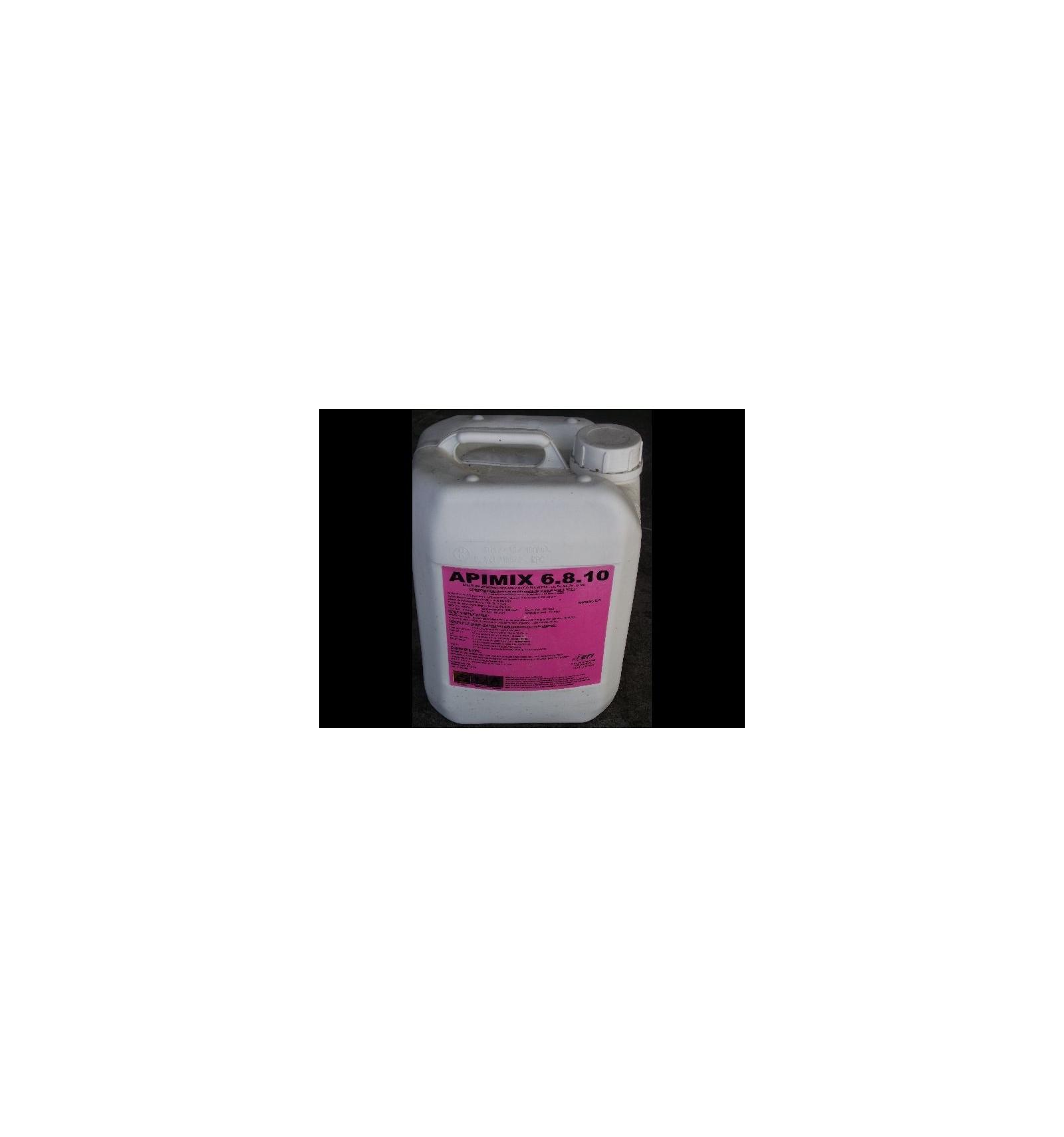 Apimix 6 8 10 engrais liquide foliaire for Engrais 10 10 10